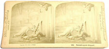 STEREOFOTO STEREOVIEW PHOTO 1875 - EAVESDROPPERS DROPPED - BALTIMORE