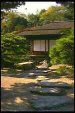 334079 TAKAMATSU ritsurin PARK Padiglione tè e Percorso di pietra A4 FOTO STAMPA