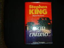 King Stephen, USCITA PER L'INFERNO, Sonzogno 1987 I° ed