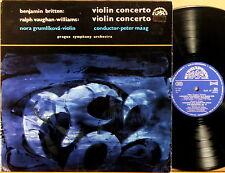 SUPRAPHON Britten Vaughan Williams GRUMLIKOVA Violin Concertos MAAG SUA ST-50959