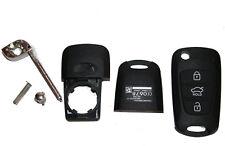 HYUNDAI ix35 ix 3 touches Boîtier avec Bart pliante Clé button cover Key a190