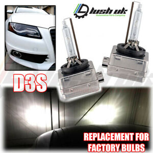 2x AUDI A4 Sline D3S Factory Xenon HID Headlight Replacement Lamps Bulbs 35w