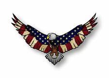 Autocollant sticker vinyl aigle usa drapeau americain voiture moto