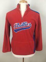 Philadelphia Phillies Mens Fleece Pullover Size Youth Large 14 16 MLB Baseball