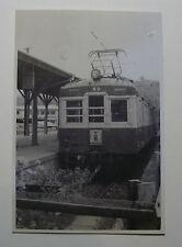JAP543 - 1955 SUNZU RAILWAY ~ TRAIN No50 PHOTO - Syuzenzi Station Japan