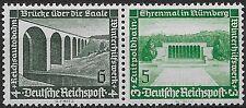 Germany Third Reich 1936 Mi# 637-636 MNH Winter Relief Fund  **