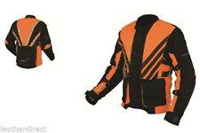 Protección Ce Hombre Moto Impermeable Negro Deportivo Chaqueta textíl