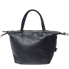Handbag Bag Italian Genuine Leather Hand made in Italy Florence B031 bk