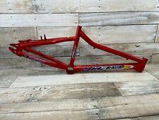 1998 Red HARO ZI FUSION BMX Frame Mid School BMX Racing