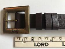 DOLCE & GABBANA Vintage D&G Logo Belt 1994