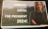 Candace Owens for President 2024 Campaign Sticker, Keep America Great Pro-TRUMP!
