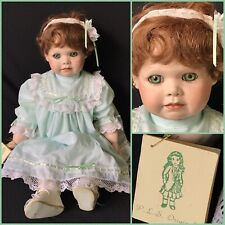 """24"""" DARLING BISQUE HEAD ARTIST BABY DOLL """"KITTY"""" – P.L.S. 1992"""