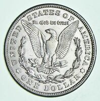 1921-S Morgan Silver Dollar - Last Year Issue 90% $1.00 Bullion Polished - XF/AU