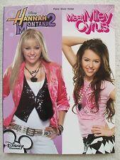 Disney Hannah Montana Meet Miley Cyrus 20 Songs Voice Piano Guitar
