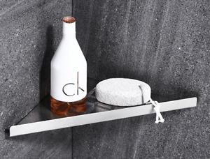 Wall Mount Bathroom Accessory Shower Caddy Storage Shelf Chrome, Stainless Steel