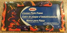 Bell License Plate Frame Purple Snake and Flames Design New