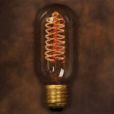 LAMPADINA INCANDESCENZA VINTAGE EDISON 40W 220V E27 FILAMENTO LAMPADA RETRO BULB