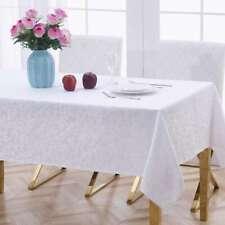 NEW Living Space Clara Jacquard Tablecloth By Spotlight