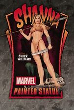 NIB Bowen Designs FS Shanna The She-Devil Statue (Cyclops Wolverine X-men)