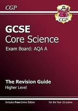 GCSE Core Science AQA Revision Guide, Richard Parsons, New condition, Book