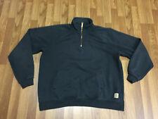 MENS XL - Carhartt K503 Midweight Quarter-zip Mock Neck Pullover Sweatshirt