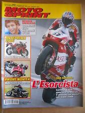 MOTOSPRINT n°37 2005 Yamaha R1 Moto Guzzi Griso 1100 - Poster Tony Cairoli [P67]