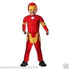 The Avengers Iron Man Toddler Costume 2T - 4T Brand New 620015 Rubies