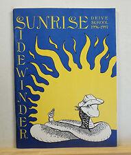 1997 Sunrise Drive School Yearbook - Sidewinder - Tucson Arizona AZ Annual