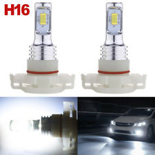 5202 H16 Led Fog Light Bulbs White 6000K 110W for 2007-2015 Chevy Silverado 1500