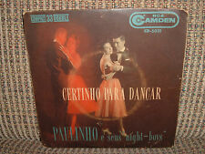"HEAR 7"" PAULINHO & SEUS NIGHT-BOYS EP ""BARQUINHO"" BOSSA BRAZIL VG ORLANDIVO PS"