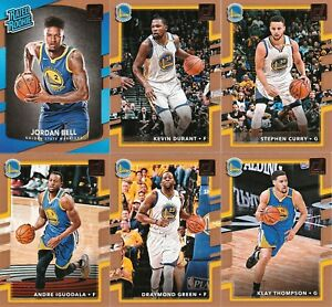 2017-18 DONRUSS COMPLETE TEAM SETS (COMBINE & SAVE SHIPPING) LEBRON CURRY BAM