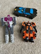 Transformers toy figures random sizes Lot Of 3  Used