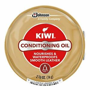 KIWI Shoe Conditioning Oil | Leather Care for Shoes, Boots, Furniture, Jacket...