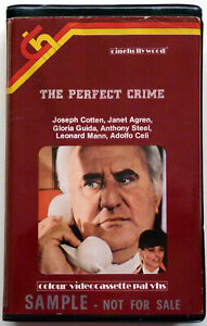 The Perfect Crime ~ Anthony Steel A. Celli(Cinehollywood precert Betamax)1978