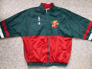 Seattle Supersonics Champion Basketball Jacket