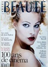 VOTRE BEAUTE 1995: BRIGITTE BARDOT_LAUREN BACALL_JEANNE MOREAU_TOP MODELS