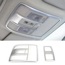 For Mazda Cx-5 Cx5 2012-2016 Chrome Roof Map Reading Light Lamp Cover Trim Frame