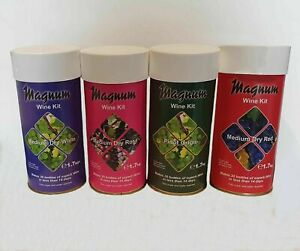 Best Magnum home brew wine kits | Dry White, Dry Rose, Dry Red, Pinot Grigio