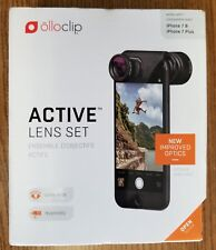 OLLOCLIP ACTIVE LENS SET FOR IPHONE 7 AND 8 - NEW