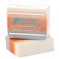5 Bars Premium Maximum Whitening/Peeling Soap w/Glutathione,Arbutin,& Kojic Acid