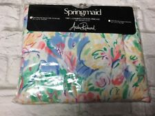 Springmaid Standard Pillow Sham Andre Richard Tabitha Floral Abstract Vtg