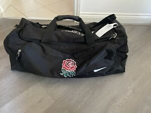 Nike Air England Rugby Player Issue Large Black Kit Bag