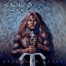 SACRED STEEL- Reborn In Steel LIM. CD +8 BONUS TRACKS german metal classic
