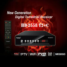 HD-2558T2 DVB-T2 Digital 1080P  H.265 TV Receiver Set Top Box w/ Remote Control