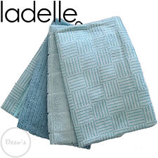 Ladelle Teal 4 Pack Super Absorbent Quick Drying Microfibre Tea Towels
