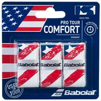 BABOLAT PRO TOUR OVERGRIP - PACK OF 3 GRIPS - USA - RRP £12