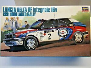 Hasegawa 1:24 Scale Lancia Delta HF Integrale 1991 1000 Lakes Model Kit # 25003