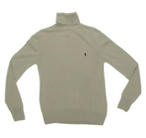 Polo Ralph Lauren Green Turtleneck Cashmere Men's Sweater Large (Blemish) 627