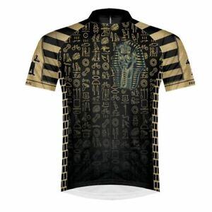 Primal Wear King of the Hill King Tut Men's Sport Cut Full Zip Cycling Jersey