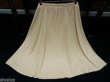 Calf Length Viscose Flippy, Full Skirts for Women